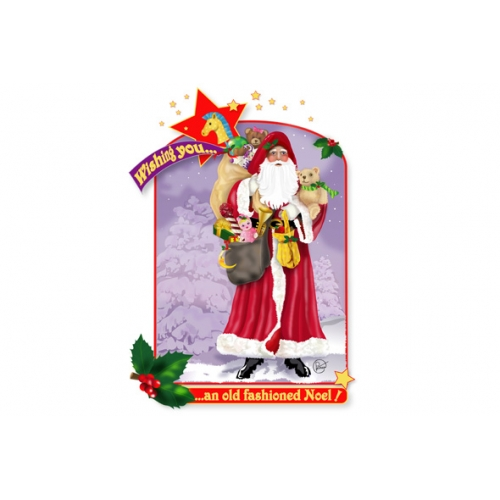 Father Christmas Christmas card design